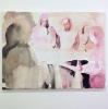 O.T. aus zusammen, 2013 Aquarell, Tusche, Eitempera, Oil auf Leinwand, 45 x 60 cm