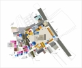Larissa Fassler - Schlossplatz Research III - General, dominate colors found at site