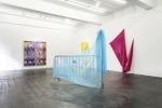 SEPTEMBER installation view, Bettina Allamoda: Streetwear (in front)